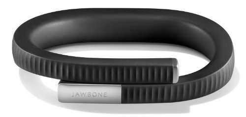 UP 24 by Jawbone - Bluetooth Enabled -  Medium - Retail Packaging - Onyx Jawbone B00GQB1JES