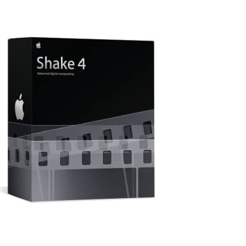 Apple Shake 4.1 for Mac (1 cd)