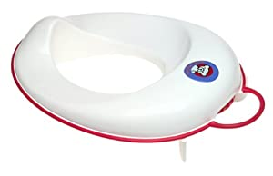 BABYBJORN Toilet Trainer - White/Red