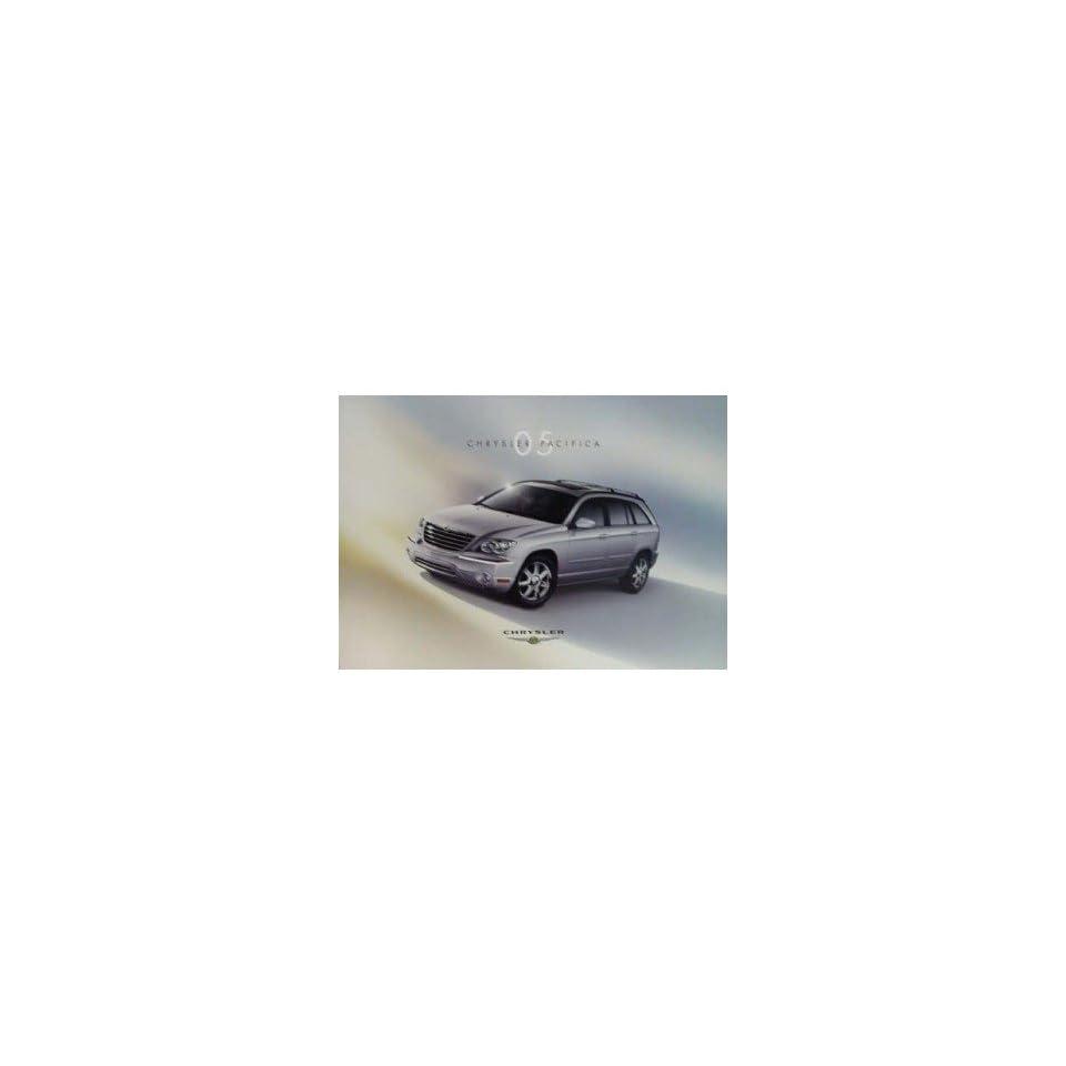 2005 Chrysler Pacifica Sales Brochure Literature Advertisement Options Colors
