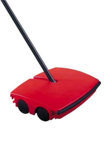wenko-4858010500-teppichkehrer-rot-schwarz-kunststoff-abs-185-x-1145-x-225-cm-schwarz