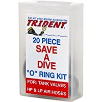 New Trident 20 Piece Save A Dive O-Ring Kit for Scuba Divers
