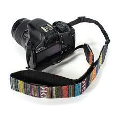 Generic Camera Neck shoulder Strap Vintage Style multi color for Nikon D5000 D5100 D5200 D7000 D7100 D3000 D3100 D3200 D90 D600 D610 Canon 700D 650D 600D 550D 500D 450D 400D 350D 70D 60D 5D Mark II 5D Mark III 7D Sony A230,A290,A330,A380,A390,A450,A550,A580,A700,A850,A900,A33,A55,A57,A65,A77,A99 - Camera Strap DSLR Strap Neck Strap Shoulder Strap Canon Strap Nikon Strap Sony Strap