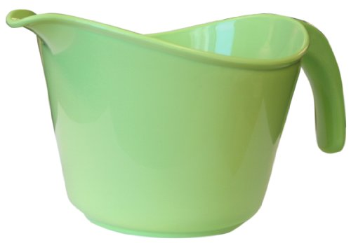 Calypso Basics 2-Quart Microwave Batter Bowl, Lime