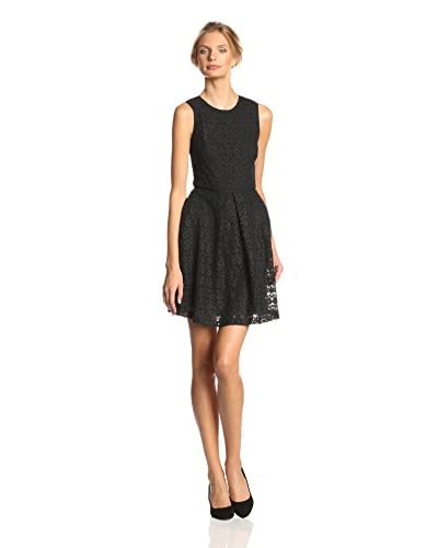 Ali Ro Women's Sleeveless Lace Flare Dress