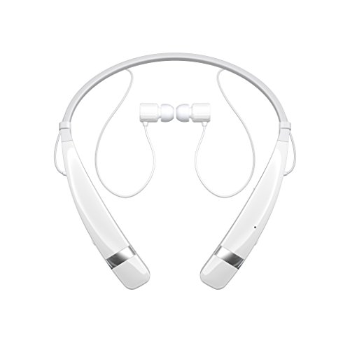 LG Electronics Tone Pro HBS-760 Bluetooth Wireless Stereo Headset - Retail Packaging - White (Lg Electronics Tone Pro compare prices)