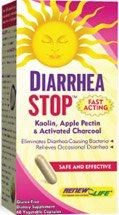 Renew Life Dietary Fiber Supplement Capsules, Diarrheastop, 60 Count