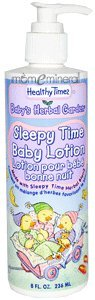 Baby's Herbal Garden, Sleepy Time Baby Lotion, 8 fl oz (236 ml) by Healthy Times