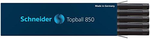 schneider-topball-850-recharge-pour-stylo-roller-05-mm-noir-lot-de-10