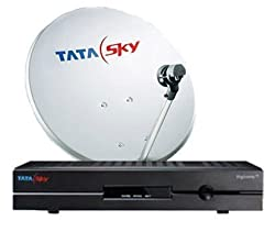 TATA Sky Standard Set Top Box with Dhamaal Mix Pack Rest of India