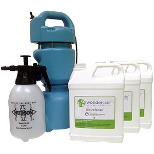 Wondercide BioDefense Organic Pest Control with ULV Fogger and Sprayer