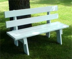 Dura-Trel 11136 5-Feet Park Bench
