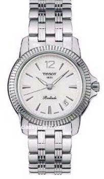 Tissot Men's Ballade White Dial Two Tone Stainless Steel