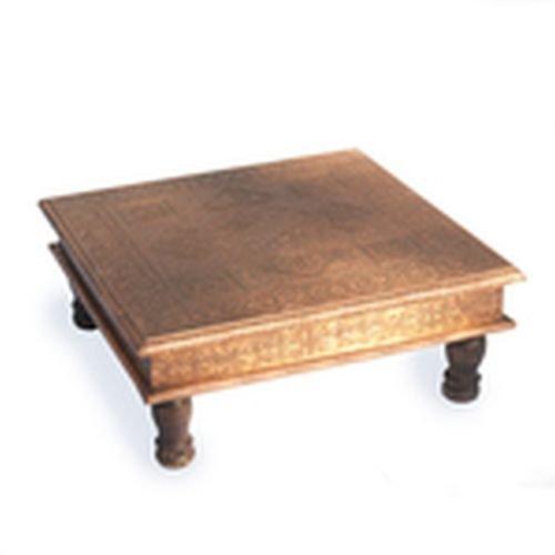 Patterned Bajot In Antique Copper