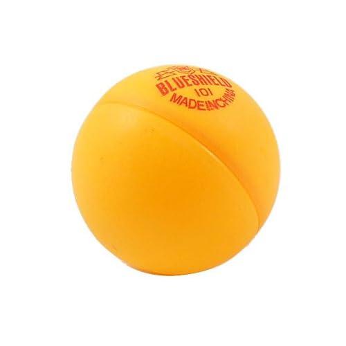 Plastic 40mm Table Tennis Balls Ping Pong Ball Orange 6 Pcs