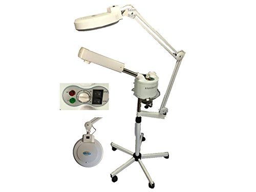 Facial Steamer Mag Light Combo with Ozone (Mag Lamp With Steamer compare prices)