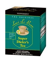 Laci Le Beau Super Dieter's Tea, Peppermint, 60-Count Box