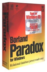 Borland Paradox for Windows 5.0