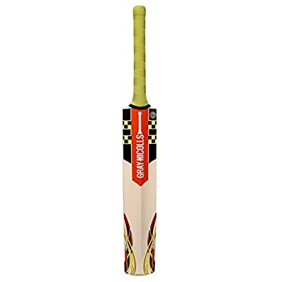 Gray Nicolls Power Bow Smasher Kashmir Willow Cricket Bat, Short Handle