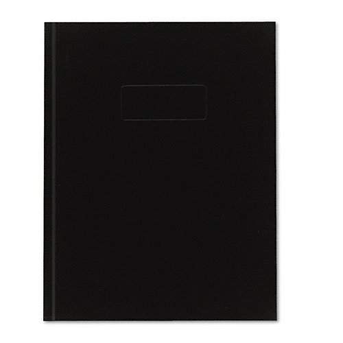 Blueline Business Notebook, 9-1/4 Inches x 7-1/4 Inches, White Paper Black Cover, 192 Pages (A9) (Quad Ruled Hardcover Notebook compare prices)