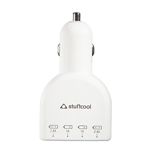 Stuffcool 6A Voyage 4 Port USB Car Charger