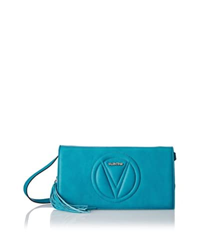 Valentino Bags by Mario Valentino Women's Lena Convertible Clutch/Cross-Body, Dark Turquoise