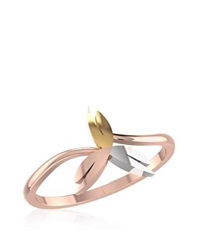 Essential Jewel Anillo EJWR10442 Oro Rosa / Oro Blanco / Oro Amarillo 11 (DE 51)