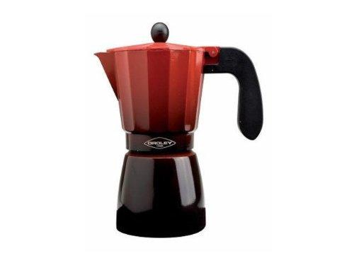 215070500 Espressokocher für 12Tassen, Induktion, Rot