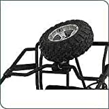 New Genuine Polaris Ranger Accessories / RANGER 2008 XP / Extreme Box Rack Spare Tire Bar / Black / pt # 2876191-418