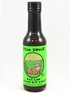 Toad Sweat Key Lime Dessert Hot Sauce from Peppered Palette