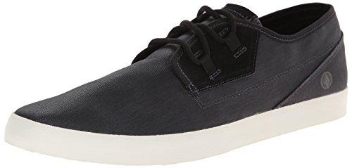 Volcom Delphi Shoe, Scarpe da skateboard uomo, Nero (Schwarz (Black Destructo / Bkd)), 42