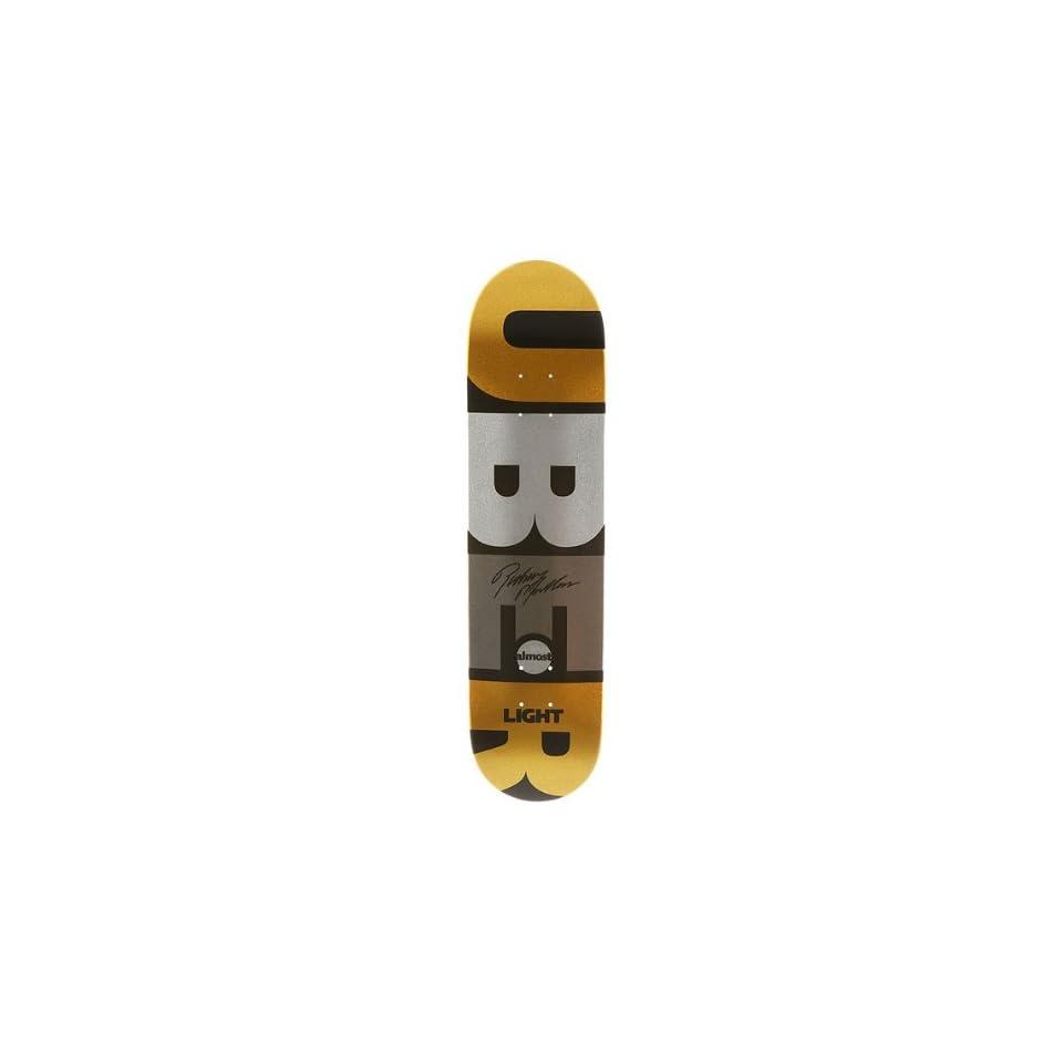 a3d639eda9 ALMOST Skateboards RODNEY MULLEN SUPER UBER LIGHT Deck GOLD 7.7 on ...