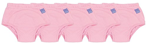 Bambino Mio Potty Training Pants, Pink, 2-3 Years, 5 Count
