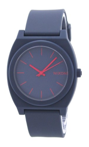Nixon Men's A119-692 Minimal The Time Teller Analog Navy Dial Watch
