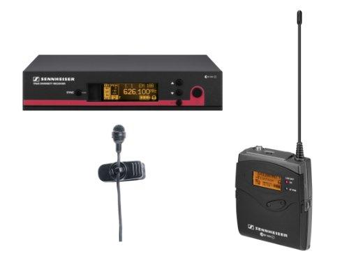 Sennheiser EW 114 G3-A2-US compact cardioid clip-on microphone  EW system