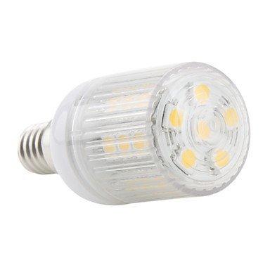 E14 5W 108 3528 Smd 410Lm 6000K Cool White Light Led Corn Bulb (220V)