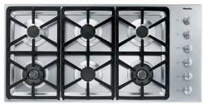 Miele : KM3484LP 42 Stainless Steel Gas Cooktop
