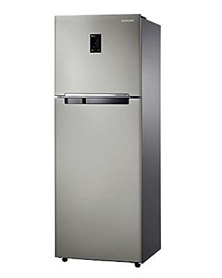 Samsung RT36HDRZESP Frost-free Double-door Refrigerator (345 Ltrs, 4 Star Rating, Platinium Inox)