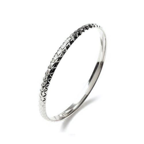 Children`s Sterling Silver Bangle Bracelet