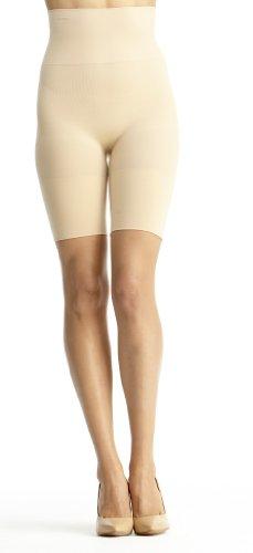 Slim Me SlimMe by MeMoi Women's High Waisted Thigh Shaper - Nude, Medium at Sears.com