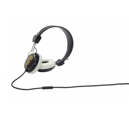 Wesc 0006995219 Conga Street Headphones With Mic, Pale Gold
