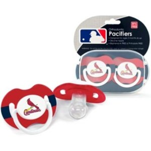 St. Louis Cardinals MLB Baby Pacifiers (2 Pack)