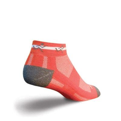 Buy Low Price SockGuy Channel Air 1in Runner Orange Cycling/Running Socks (B007SI6MSG)