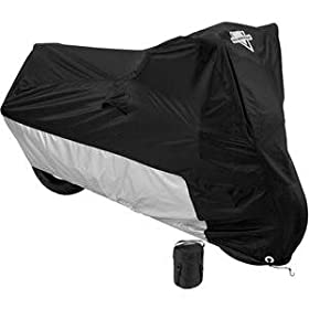 Nelson-Rigg Deluxe All Season Cover - Large/Black/Silver