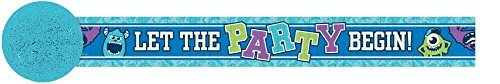 Monsters University Inc. Crepe Paper Streamer (30ft) by Monsters University (Monster Inc Streamers compare prices)