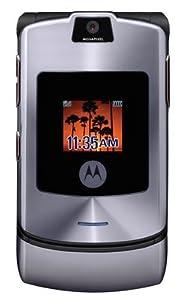 MOTOROLA Razr V3i Handy (1.2 MP Kamera, MP3-Player) silver