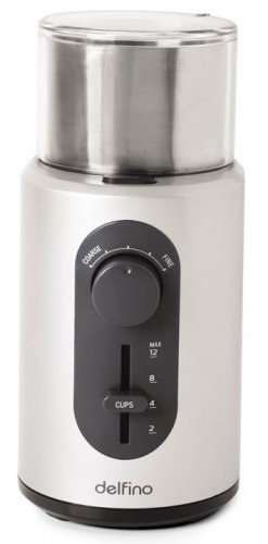 Toastess DLCG559 Coffee and Spice Grinder, Stainless Steel