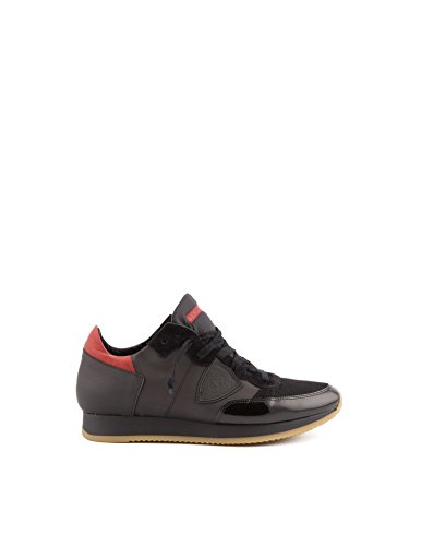 Sneakers Tropez World nera e rossa - 42