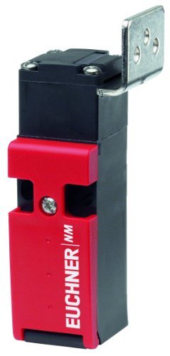 Euchner NM Plastic Safety Switch with VZ Separate Actuator, 250V AC/DC Voltage, 3 x M16 x 1.5 Connection, 2NC + 1NO Contact