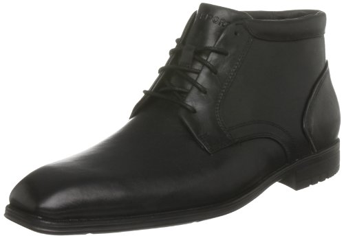 Rockport Men's Fairwood Boot Waterproof Black Shoe K57756  8.5 UK , 42.5 EU , 9 US